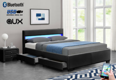 Exclusive Bluetooth Music LED Bed
