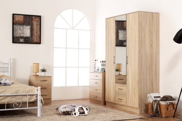Harmins Sonoma Oak Furniture Set
